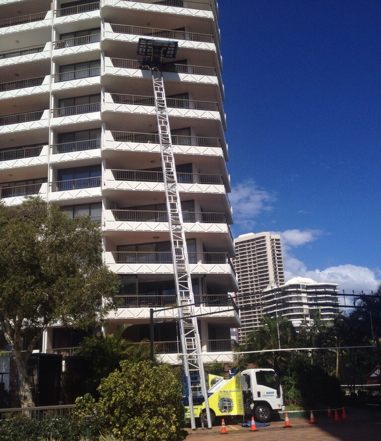 high_rise_apartment_lift_9_storey_lifting_residential_move_gold_coast_ozhoist