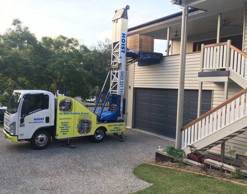 move_new_fridge_does_not_fit_up_stairs_over_balcony_lift_service_brisbane_sunshine_coast_gold_coast